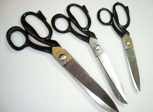 Scissors and Pinking Shears